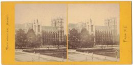 ROYAUME UNI PHOTO STÉRÉOSCOPIQUE STEREO STEREOVIEW FROM N E : Westminster Abbey - Photos Stéréoscopiques