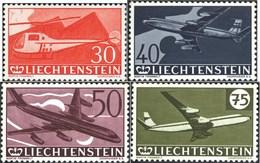 Liechtenstein 391-394 (kompl.Ausg.) Postfrisch 1960 Flugpostmarken (7715412 - Liechtenstein
