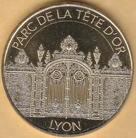 MONNAIE DE PARIS - 69 LYON - GRILLE ENTREE DU PAC DE LA TETE D'OR 2018 - Monnaie De Paris