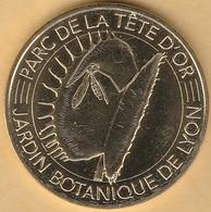 MONNAIE DE PARIS - 69 LYON - PARC DE LA TËTE D'OR - JARDIN BOTANIQUE 2018 - Monnaie De Paris