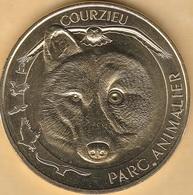 MONNAIE DE PARIS - 69 COURZIEU - PARC ANIMALIER - LE LOUP 2018 - Arthus Bertrand
