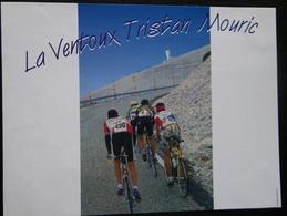 ETIQUETTE CYCLISME LA VENTOUX TRISTAN MOURIC - Cycling