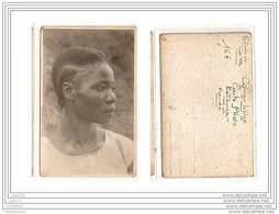 6411 AK/PC/ CARTE PHOTO/934/CONGO BELGE/ETUDE DE COIFFE/PANDA/KATANGA/PHOT O.GABRIEL.L - Kinshasa - Leopoldville