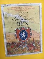 8924 - Suisse Réception Du Président Du Gran Conseil Vaudois 1985 Arnold Chauvy Vin D'honneur Bex - Politics
