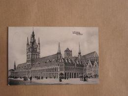 IEPER YPRES Les Halles België Belgique Carte Postale Postcard - Ieper