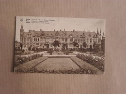 IEPER YPRES Place De La Gare Maisons Gothique Statieplein België Belgique Carte Postale Postcard - Ieper