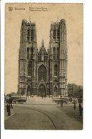 CPA - Carte Postale -BELGIQUE -Bruxelles - Eglise Stainte Gudule -1920  - S2805 - Monumenten, Gebouwen