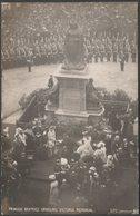 Princess Beatrice Unveiling Victoria Memorial, Sheffield, Yorkshire, 1905 - SPC RP Postcard - Sheffield