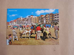 KOKSIJDE COXYDE Plage Digue Strand Dijk België Belgique Carte Postale Postcard - Koksijde