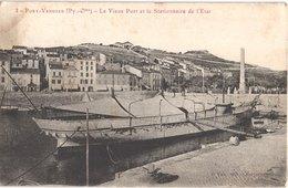 FR66 PORT VENDRES - Fau 3 - Le Vieux Port Et Le Stationnaire D'état - Bateau - Port Vendres