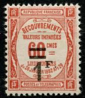 France Taxe (1927) N 53 * (charniere) - Taxes