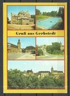 Deutschland DDR 1988 Ansichtskarte GERBSTEDT Kr Hettstedt Sauber Unbenutzt - Gerbstedt