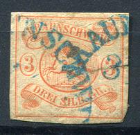 42153) BRAUNSCHWEIG # 3 Gestempelt Aus 1852, 320.- € - Braunschweig