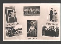 Walcheren - Groeten Uit Walcheren - Kostuum / Klederdracht - Folkore - Multiview - Pays-Bas