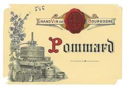 ETIQUETTE VIN GRAND VIN DE BOURGOGNE POMMARD - Bourgogne