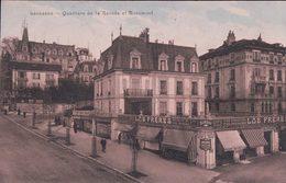 Lausanne, Quartier De La Rasude Et Rosemont, LOB Frères Marchands De Vins (531) - VD Vaud