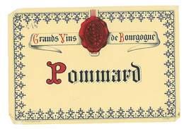 ETIQUETTE VIN GRANDS VINS DE BOURGOGNE POMMARD - Bourgogne