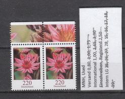 Deutschland BRD ** 3414   Blumen Hauswurz Paar Neuausgabe 11.10.2018 Postpreis 4,40 - [7] República Federal