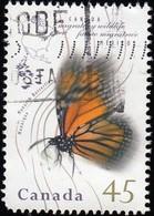 CANADA - Scott #1563 Monarch Butterfly (*) / Used Stamp - Butterflies