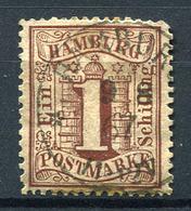 42162) HAMBURG # 11 Gestempelt Aus 1864, 22.- € - Hamburg