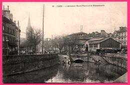 Caen - L'Abreuvoir Saint Pierre Et La Poissonnerie - Quai - Eglise - Animée - Collection Des NOUVELLES GALERIES - Caen
