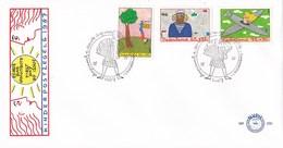 Nederland - FDC - Kinderzegels - Kind En Beroep - De Vrouw Te Land, Ter Zee En In De Lucht - NVPH E250 - Kindertijd & Jeugd