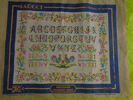 Abecedaire 36x47 Margot A Executer - Loisirs Créatifs