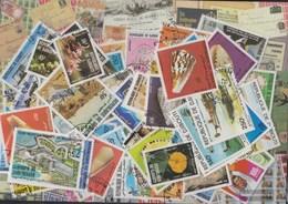 Djibouti Stamps-100 Different Stamps - Djibouti (1977-...)