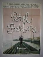 """JACQUES BREL - AFFICHE FILM """"FRANZ"""" - Posters"""