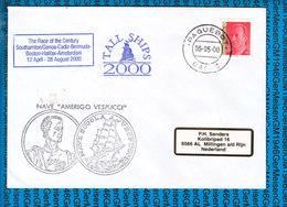 Spain Cover Ship / Amerigo Vespucci - Ships
