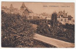 Královské Vinohrady (Vilová čtvrť) Old Postcard Travelled 1921 B181015 - Czech Republic