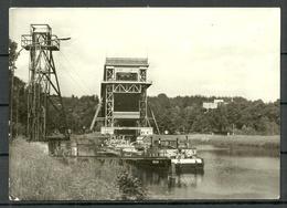 Deutschland DDR NIEDERFINOW Kr Eberswalde Schiffshebewerk Boat Lift (gesendet 1990, Mit Briefmarke) - Eberswalde