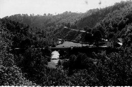 19. CPSM. VEYRIERES. Pont Du Chavanon. - Other Municipalities
