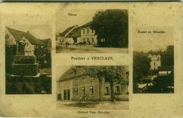 REPUBBLICA CECA -  POZDRAV Z VRACLAVE /  Vraclav - VIEWS - 1920s (BG608) - Czech Republic