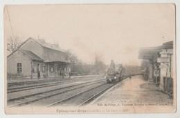 CPA 91 EPINAY SUR ORGE La Gare - Epinay-sur-Orge