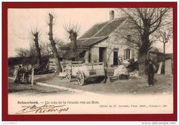 Schaerbeek - Un Coin De La Grande Rue Au Bois - Vue Animée - Bertels - 2 Scans - Schaerbeek - Schaarbeek
