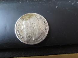 50 CENT - 1907- BELGIQUE - ARGENT TTB - 06. 50 Centimes