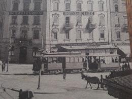 Genève - Rue Du Mont Blanc - Tramway, Tram - Hotel Suisse Schweizerhof - Carte En Superbe état - Charnaux éditeur N°640 - GE Geneva