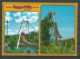 Deutschland Ansichtskarte HEIDE-PARK Soltau 1995 Gesendet, Mit Briefmarke - Soltau
