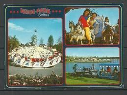 Deutschland Ansichtskarte HEIDE-PARK Soltau 1993 Gesendet, Mit Briefmarke - Soltau
