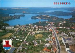 Ansichtskarte Feldberger Seenlandschaft Luftbild 1995 - Germany