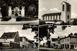 SENNELAGER, Mehrbild, Denkmal, Kirche, Strassen (1969) AK - Germany