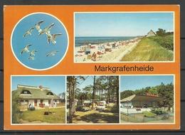 Deutschland DDR 1988 Ansichtskarte MARKGRAFENHEIDE Sauber Unbenutzt - Germany