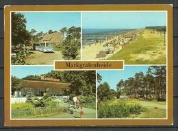 Deutschland DDR 1985 Ansichtskarte MARKGRAFENHEIDE Sauber Unbenutzt - Germany