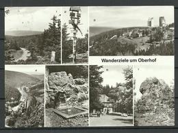 Deutschland DDR 1983 Wanderziele Im OBERHOF (Kr Suhl ) Gesendet 1998 Mit Briefmarke - Oberhof