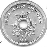 *north Vietnam 5 Xu 1975 Km A10 Bu/ms65  !!! - Viêt-Nam