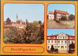 Ak DDR - Dreißigacker - Ortsansichten - Meiningen