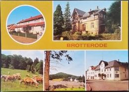 Ak DDR - Brotterode - Stadtansichten - Germany