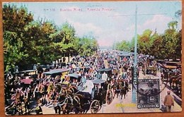 Cpa ARGENTINE BUENOS AIRES Animée AVENIDA ALVEAR 1906 , Calèches , ARGENTINA EDIT. Z. FUMAGALLI - Argentina