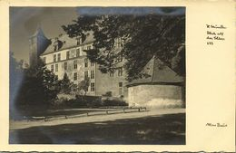 HANN. MÜNDEN, Blick Auf Das Schloss (1930s) Foto Max Baur AK - Hannoversch Muenden